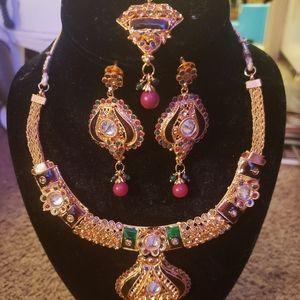 Indian jewelry set -New!!